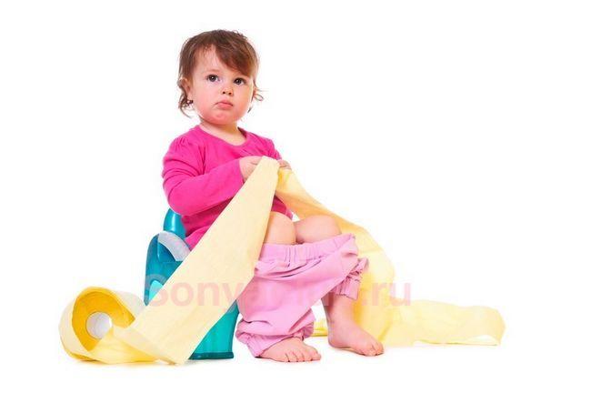 Частый жидкий стул у ребенка