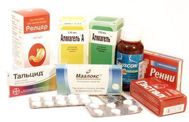 Препараты при гастродуодените