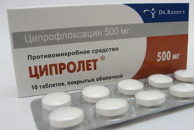 Ципролет при панкреатите