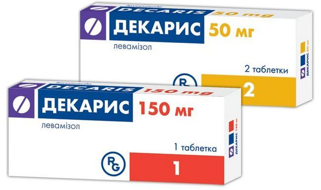 Декарис при лечении остриц (энтеробиоза)