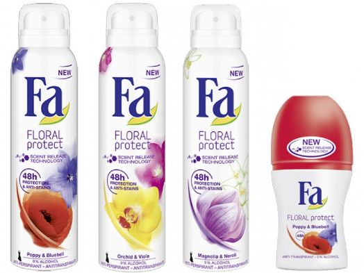 Дезодоранты и антиперспиранты от fa