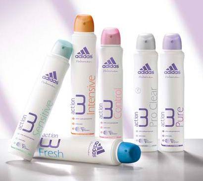 Дезодоранты и антиперспиранты от марки adidas