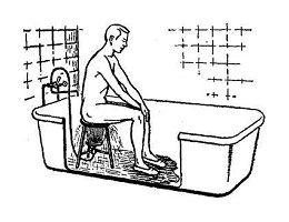 Восходящий душ при геморрое домашних условиях