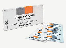 Фуразолидон при панкреатите