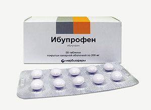 Ибупрофен при панкреатите