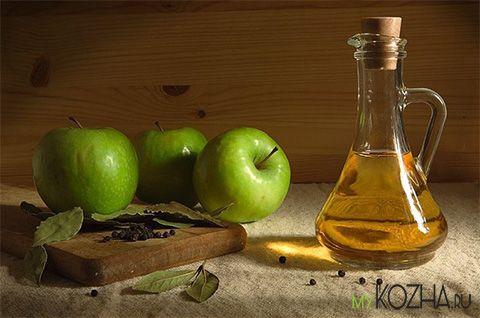 Яблочный уксус в борьбе с растяжками