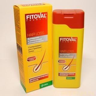 Эффективные шампуни против выпадения волос «Фитовал»