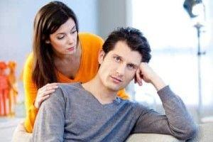 Девушка просит парня извинить ее