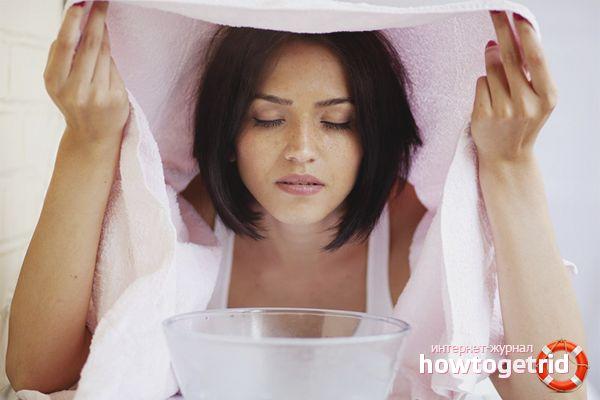 Ванночки для жирной кожи лица
