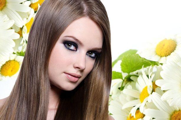 изменить цвет волос без краски