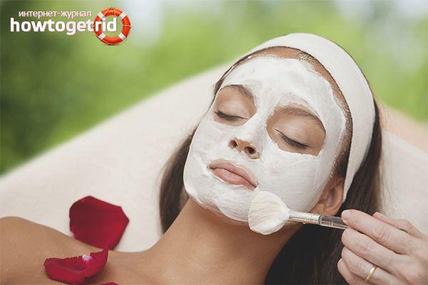 Маски для подтяжки кожи лица