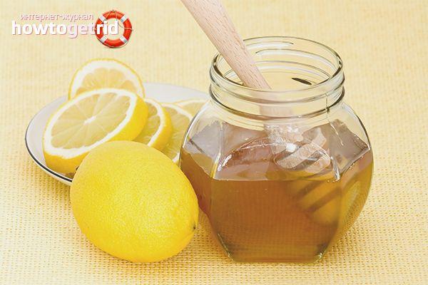 Лимон и мёд