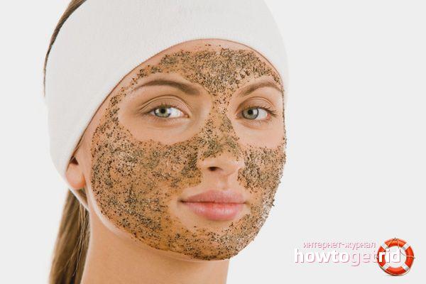 Как сделать пилинг лица