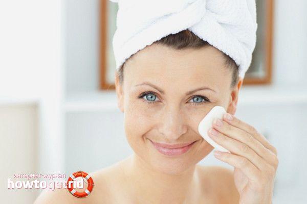 Косметический уход за кожей лица