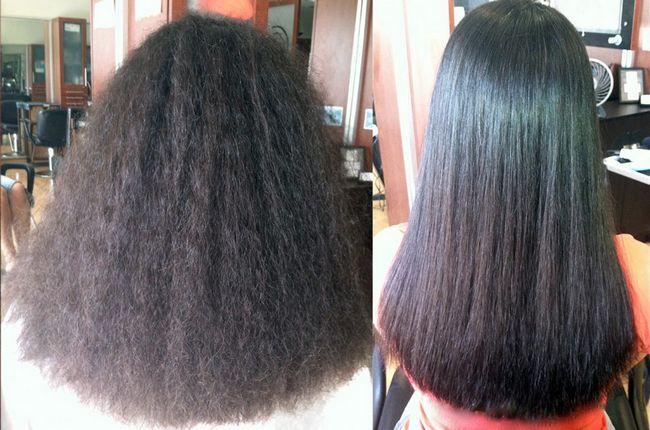 Как ухаживать за волосами после процедуры кератинового выпрямления