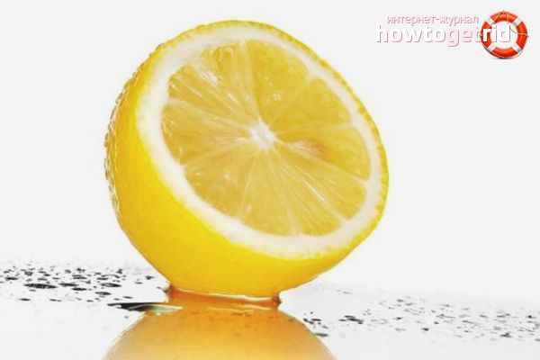 Лимон для замедления роста волос
