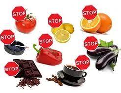 Продукты, вызывающие диарею