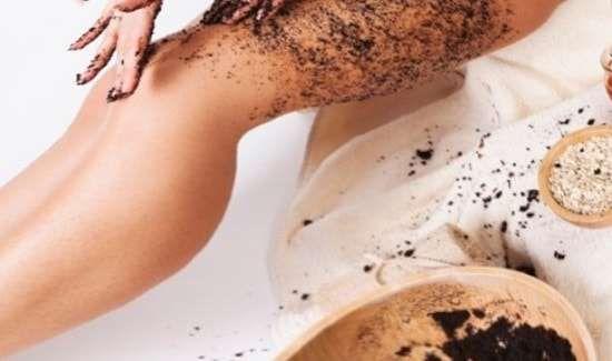 Кофейная гуща — применение для тела, скраб из кофе