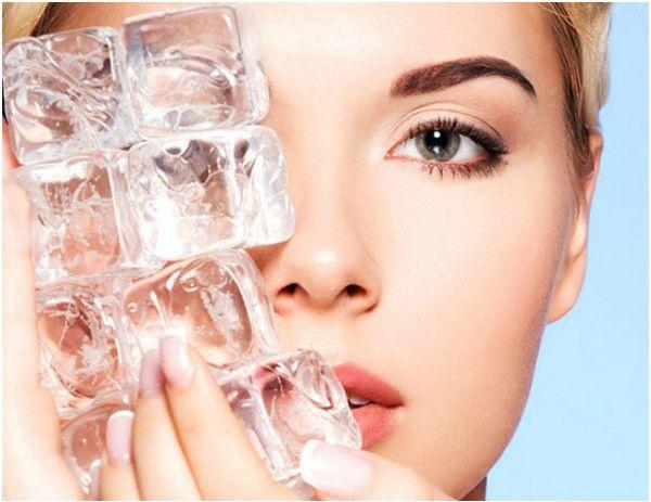 Лед против морщин на лице: простые и эффективные рецепты