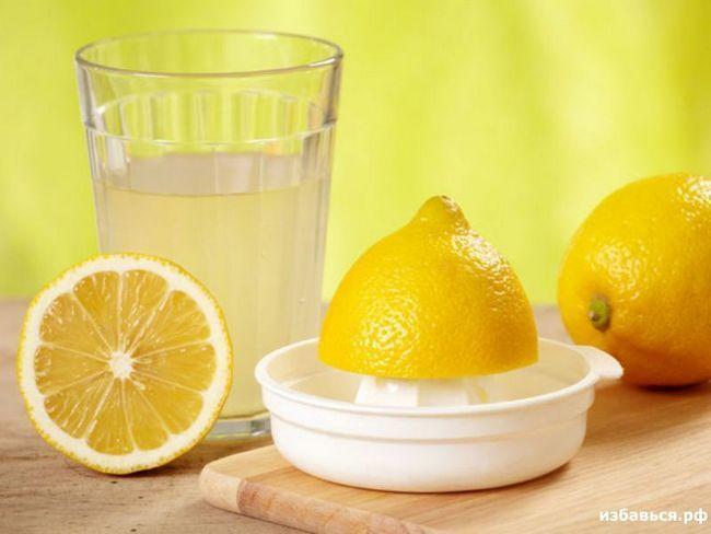 Лимон при поносе