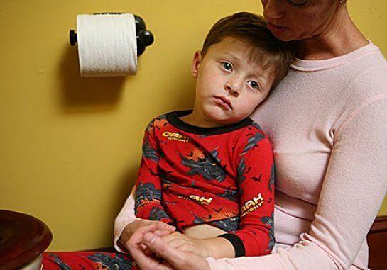 Обезвоживание при поносе (диарее) у ребенка