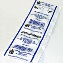 Парацетамол при панкреатите