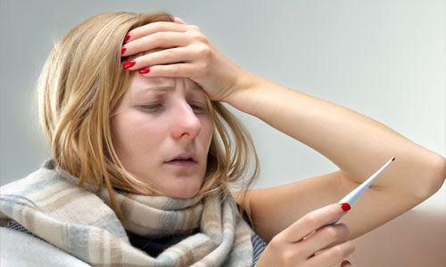 Головная боль, понос и температура