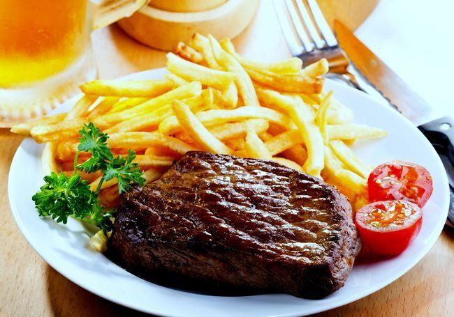 Понос от мяса