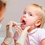 Понос при ангине у ребенка