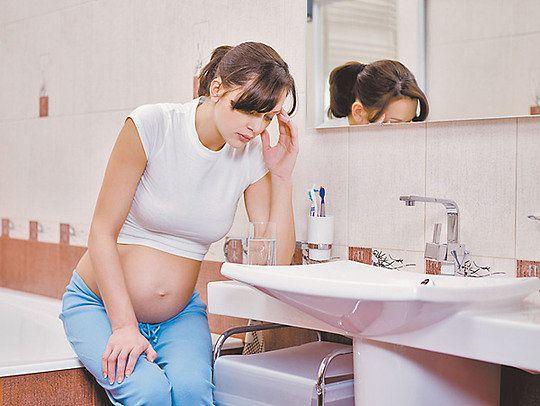 Почему у беременных понос?