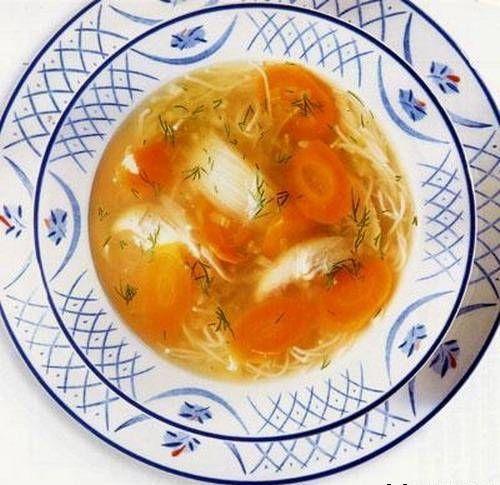 Суп курячий при панкреатиті