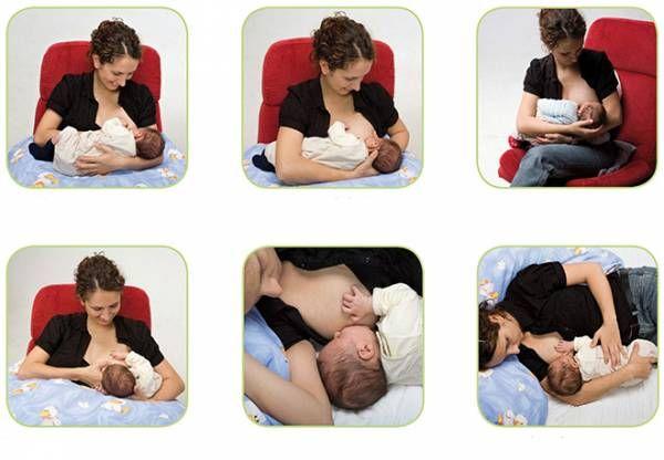 Секреты успешного кормления младенца грудью
