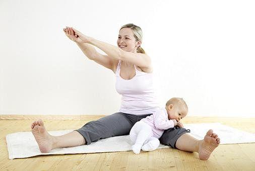 Спорт в жизни кормящей мамы