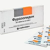 Таблетки фуразолидон от поноса (диареи)