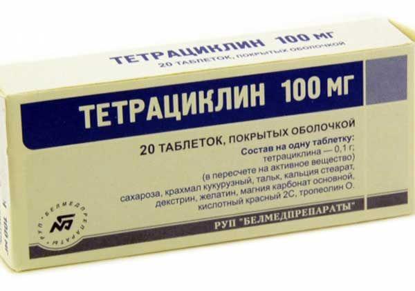 Тетрациклин от поноса