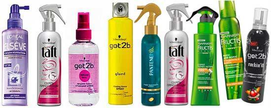 Термозащита для волос, как сделать правильный выбор?