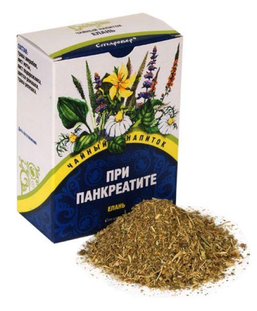 Травяной чай при панкреатите, фиточай для поджелудочной железы