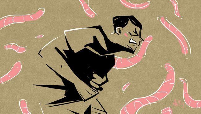Умирают ли люди от глистов?