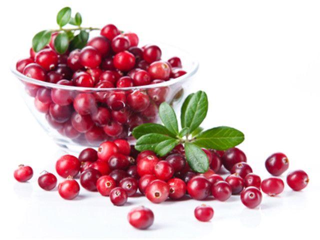 Включение в рацион кормящей матери клюквы и красных ягод