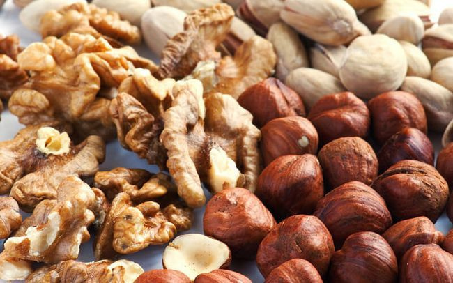 Влияние орехов на лактацию