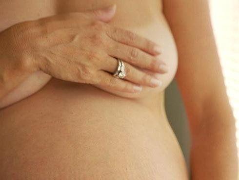 Зуд сосков у беременной женщины